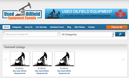 Used Oilfield Equipment Canada