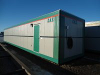 10' x 55' modular storage unit- wired